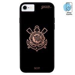 Capinha para celular Mirror - Corinthians - Escudo Espelhado