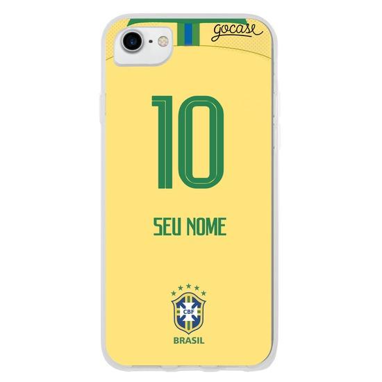 Seleção Brasileira - Uniforme Amarelo