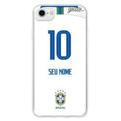 Capinha para celular Seleção Brasileira - Uniforme Branco