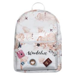Mochila Gocase Bag Personalizada - World Trip Manuscrita