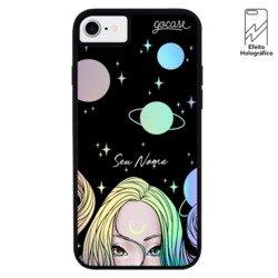 Capinha para celular Holo - Garota Lunar