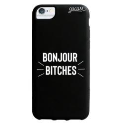 Black Case - BONJOUR BITCHES Phone Case