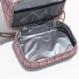 Lunch bag xadrez rosa interno %282%29