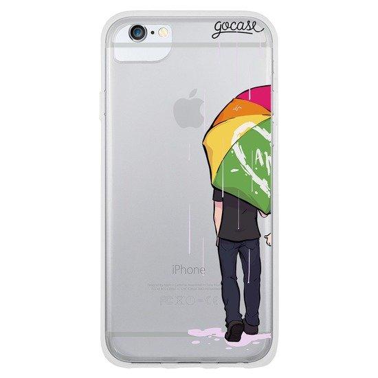 Capinha para celular Chuva de Amor (Esquerda)