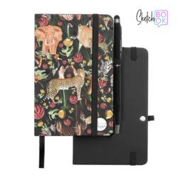 Sketchbook Black - Wild Animals