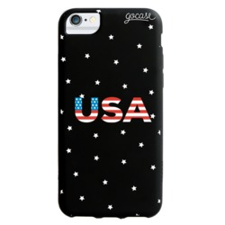 Black Case - USA stars - Independence Day Collection Phone Case