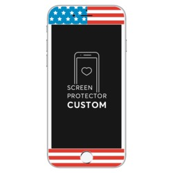 Screen Protector Tempered Glass - USA flag - Independence Day Collection