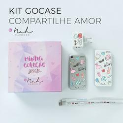 Kit Gocase Compartilhe Amor by Nah Cardoso (Carregador Portátil de 5000mAh)