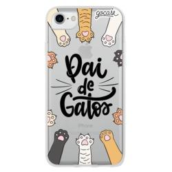 Capinha para celular Pai de Gatos