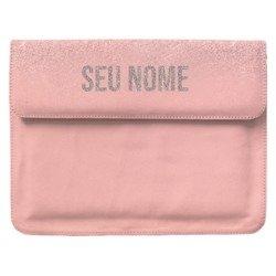 Capa para Notebook Personalizada - Chuva de Brilho Personalizada