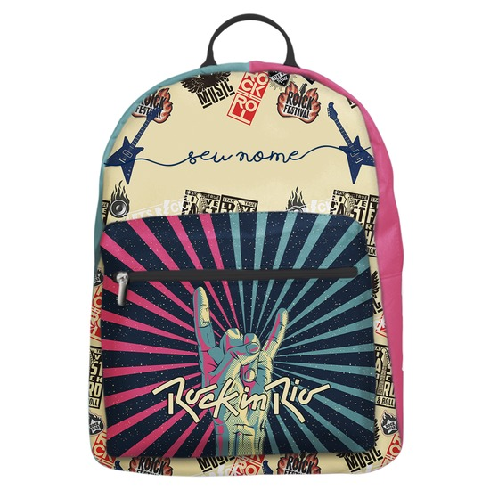 Mochila Gocase Bag - Rock It Manuscrita