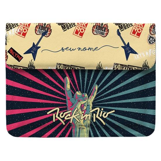 Capa para Notebook - Rock It Manuscrita