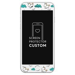 Unicorn White Screen Protector - Tempered Glass