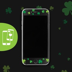 Get Lucky Black Screen Protector - Tempered Glass