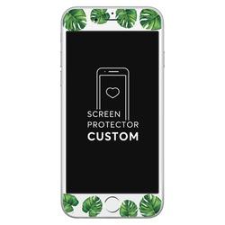 Tropical Verde - Película Anti-Impacto Customizada - Vidro Temperado