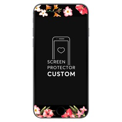 Floral Back Screen Protector - Tempered Glass