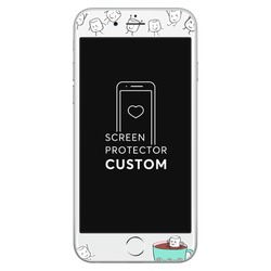 Always Together White Screen Protector - Tempered Glass