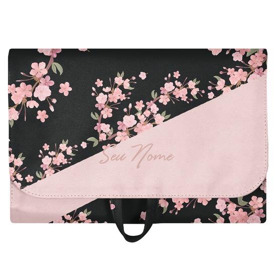 Necessaire Trip - Classical Rosé Black Personalizada