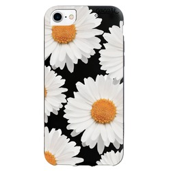 Black Case - VIntage Daises Phone Case