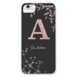 Rosé Branch Glitter Phone Case