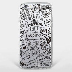 Capinha para celular Doodle