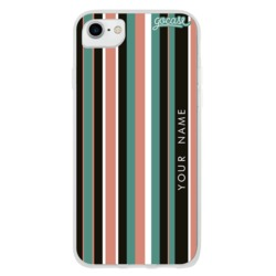 Vintage Stripes Customizável Phone Case
