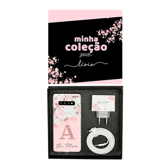 Kit Collection - Classical Rose Black - Cabo Micro USB