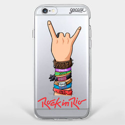 Capinha para celular Rock in Roll by Rock In Rio