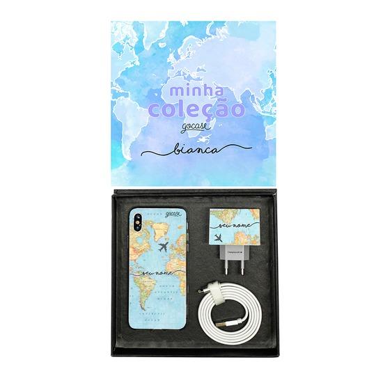 Kit Collection - Mapa Mundi - Cabo Lightning