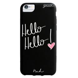 Capinha para celular Hello Hello Color Black - by Nah Cardoso