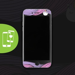 Unicorn Hair Black Screen Protector - Tempered Glass