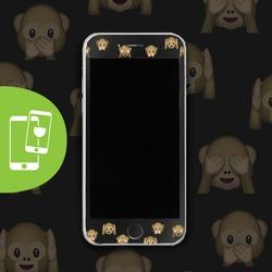Monkey Secrets Black Screen Protector - Tempered Glass