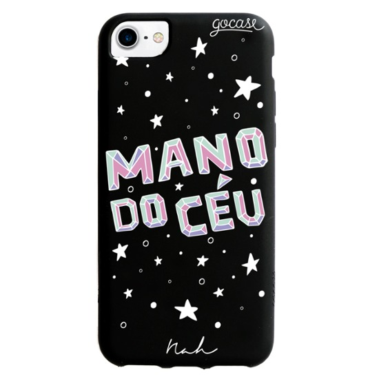 Capinha para celular Color Black - Mano Do Céu By Nah Cardoso