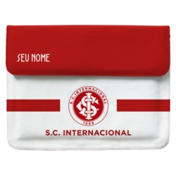 Capa Para Notebook - Internacional - Escudo White - Customizável