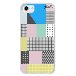 Asymmetrical Blocks   Phone Case