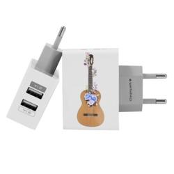 Carregador Personalizado iPhone/Android Duplo USB de Parede Gocase - Sons de Flor By Mari Nolasco