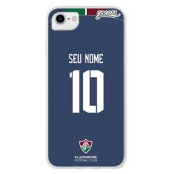 Capinha para celular Fluminense - Uniforme 3 Personalizado