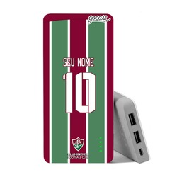 Carregador Portátil Power Bank (10000mAh) - Fluminense - Uniforme 1