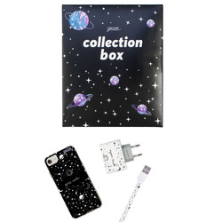 Kit Draw Universe Handwritten (case + Apple cable + wallcharger + Space Travel Limited collection box)