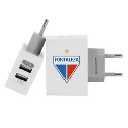 Carregador Personalizado iPhone/Android Duplo USB de Parede Gocase - Fortaleza - Escudo - White