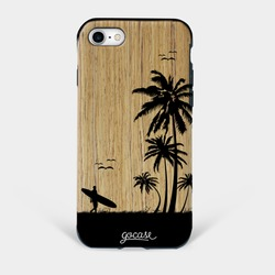 Capinha para celular Madeira Take it Easy