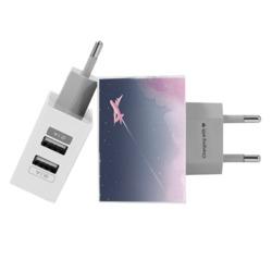 Carregador Personalizado iPhone/Android Duplo USB de Parede Gocase - Sweet Travel