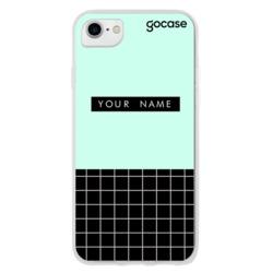 Fashion Grid Turquesa Phone Case