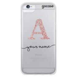 Initials Glitter Phone Case