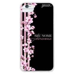 Coque Floral Lines Customizable