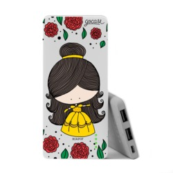 Power Bank Slim Portable Charger (5000mAh)  - Beauty and the Beast