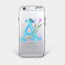 Floral Alphabet Phone Case