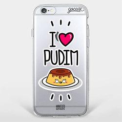 Capinha para celular Love Pudim