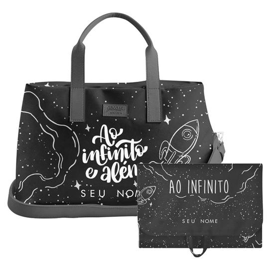 Kit Ao Infinito e Além (Bolsa de Viagem Joy + Necessaire Trip)