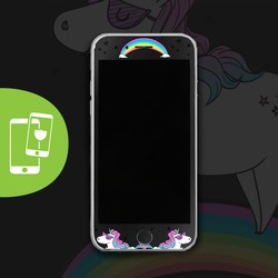 Born to Shine - Black Screen Protector - Tempered Glass